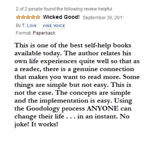 Goodology Book Review by Radio Show Host T.Love.