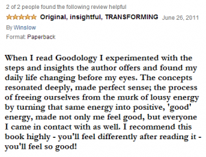 Goodology Review by Author Winslow Eliot